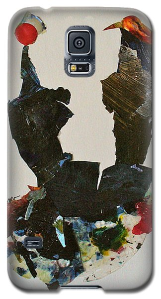 Galaxy S5 Case featuring the mixed media A Match Made In Heaven by Mary Sullivan