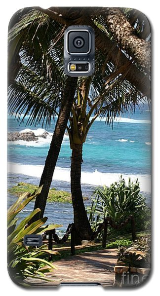 Galaxy S5 Case featuring the photograph A Maui Afternoon by Mary Lou Chmura