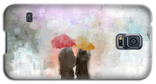 A Meeting In The Rain Galaxy S5 Case by Jessica Wright