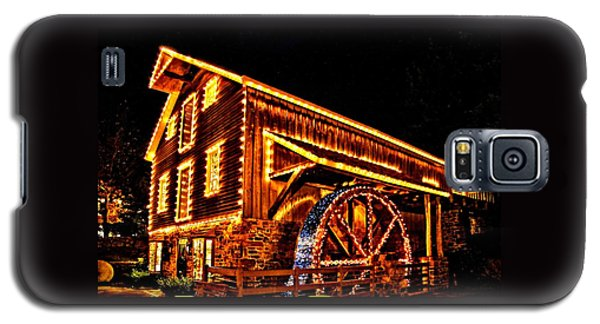 A Mill In Lights Galaxy S5 Case by DJ Florek