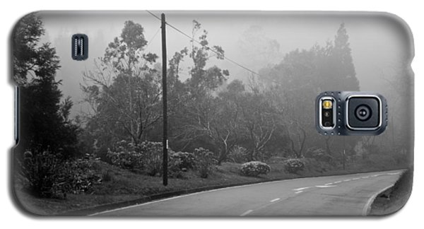 A Misty Country Road Galaxy S5 Case