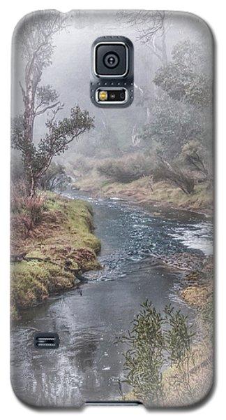 A Misty Morning In Bridgetown Galaxy S5 Case