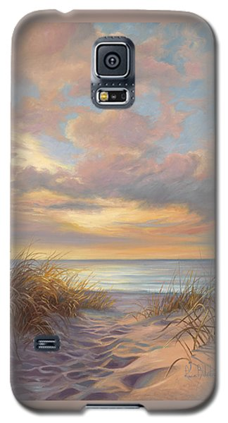 Sunset Galaxy S5 Case - A Moment Of Tranquility by Lucie Bilodeau