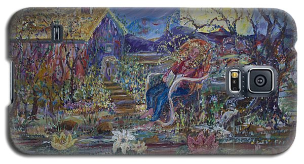 A Nap By The Lily Pond Galaxy S5 Case by Avonelle Kelsey