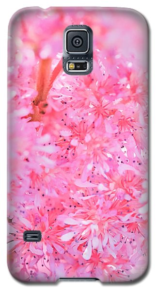 A Natural Pink Bouquet Galaxy S5 Case