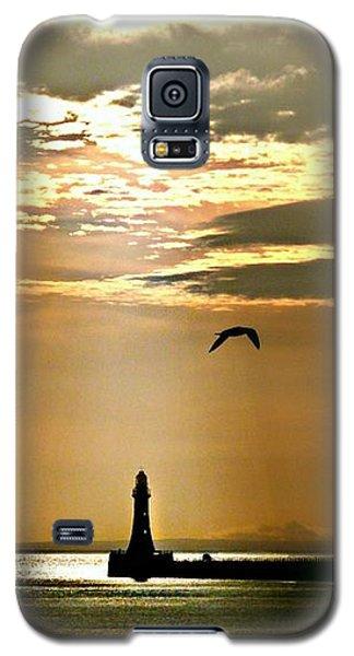 Roker Pier Sunderland Galaxy S5 Case by Morag Bates