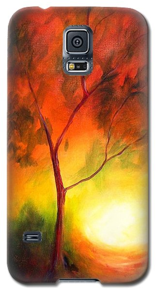 A New Day Galaxy S5 Case by Alison Caltrider