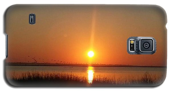 Galaxy S5 Case featuring the photograph A New Day Is Born by Joetta Beauford