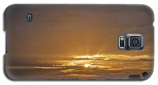 A New Day - Sunrise In Texas Galaxy S5 Case