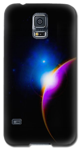 A New Sunrise Galaxy S5 Case by Naomi Burgess