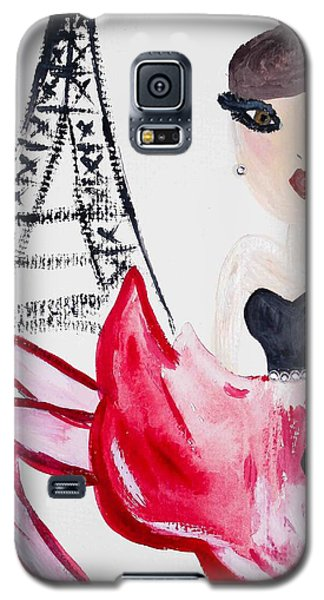 A Night In Paris Galaxy S5 Case