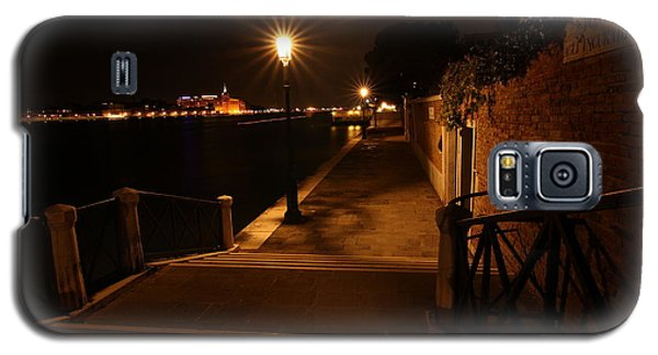 A Night Walk In Venice Galaxy S5 Case