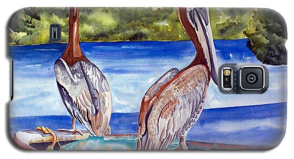 A Pair Of Pelicans Galaxy S5 Case