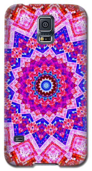 Galaxy S5 Case featuring the digital art A Patchwork Quilt by Mario Carini
