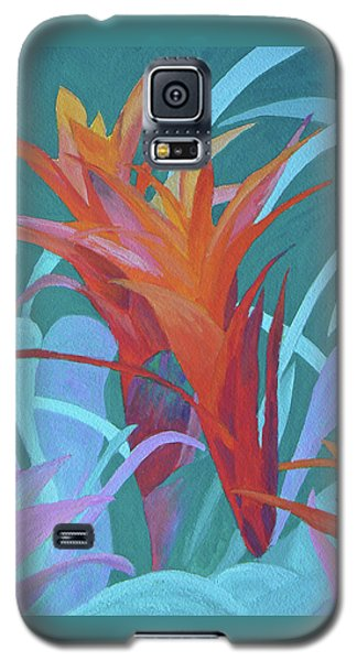 A Pattern Of Bromeliads Galaxy S5 Case