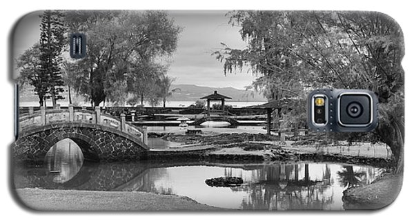Galaxy S5 Case featuring the photograph A Peaceful Stroll by Harold Rau