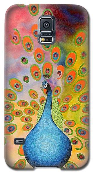 A Peculiar Peacock Galaxy S5 Case