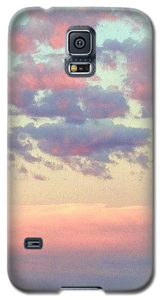 Sky Galaxy S5 Case - Summer Evening Under A Cotton by Blenda Studio