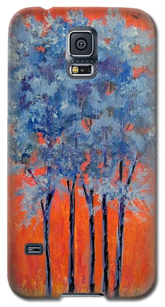 Galaxy S5 Case featuring the painting A Place To Call Home by Suzanne Theis