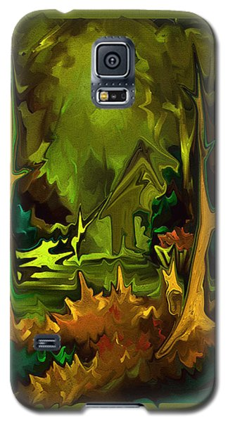 Galaxy S5 Case featuring the painting A Place To Go by Steven Lebron Langston