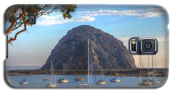 A Pleasant Day In Morro Bay Galaxy S5 Case
