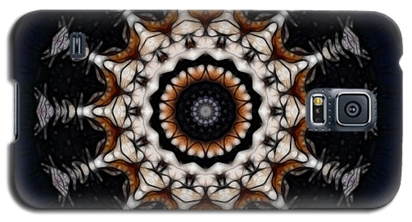 Galaxy S5 Case featuring the digital art A Plutonian Moondial by Rhonda Strickland