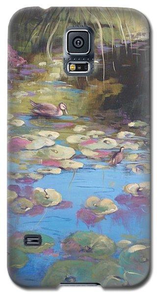 A Pond Reflection Galaxy S5 Case