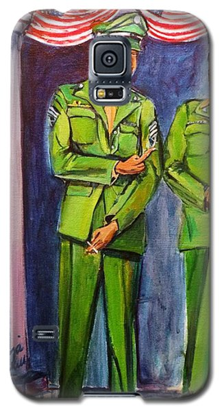 Daddy Soldier Galaxy S5 Case by Ecinja Art Works