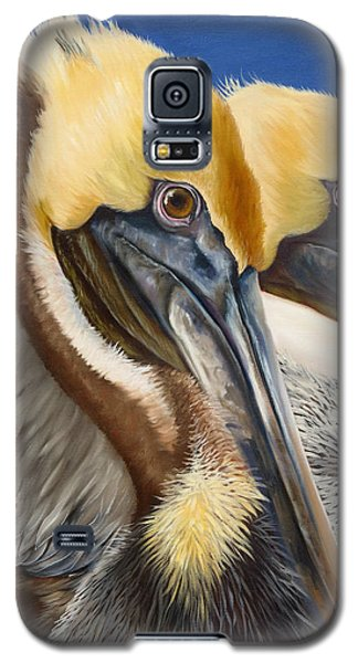 A Portrait Of Two Pelicans Galaxy S5 Case