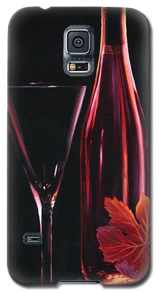 Galaxy S5 Case featuring the painting A Prelude To Romance by Sandi Whetzel