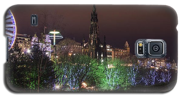 A Princes Street Gardens Christmas Galaxy S5 Case
