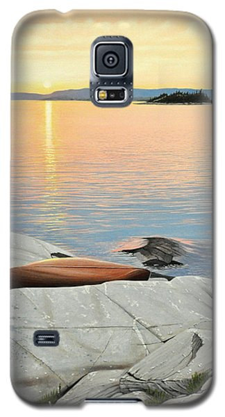 A Quiet Time Galaxy S5 Case