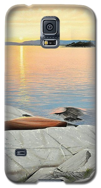 A Quiet Time Galaxy S5 Case by Kenneth M  Kirsch