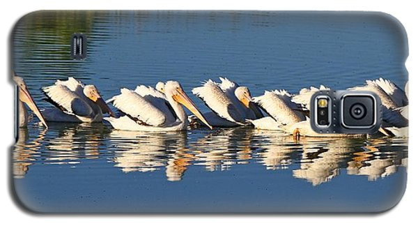 A Raft Of Pelicans Galaxy S5 Case