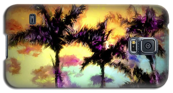 A Rainbow Of Palms Galaxy S5 Case