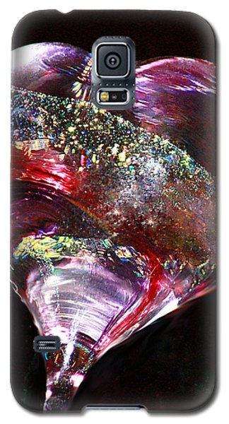 Galaxy S5 Case featuring the photograph A Rainbow's Heart by The Art Of Marilyn Ridoutt-Greene