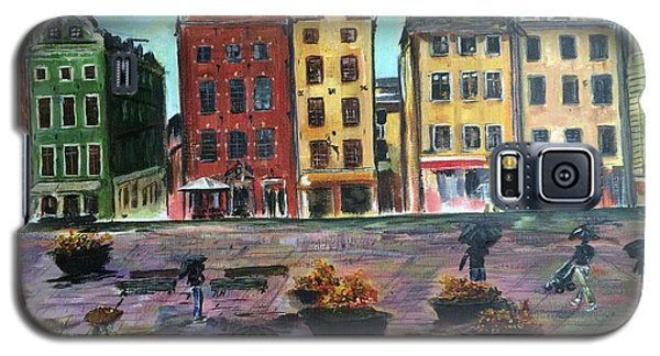 A Rainy Day In Gamla Stan Stockholm Galaxy S5 Case by Belinda Low