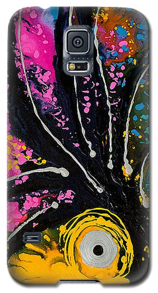 Parrot Galaxy S5 Case - A Rare Bird - Tropical Parrot Art By Sharon Cummings by Sharon Cummings