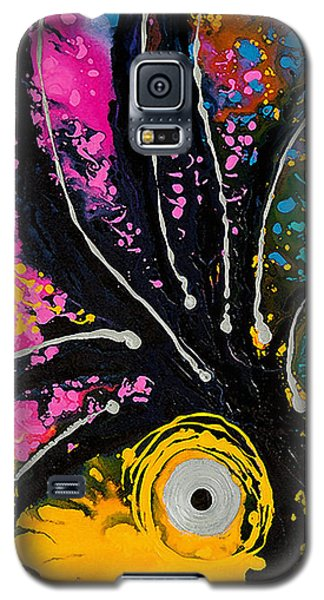 A Rare Bird - Tropical Parrot Art By Sharon Cummings Galaxy S5 Case by Sharon Cummings