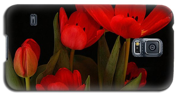 A Red Tulip Day Galaxy S5 Case
