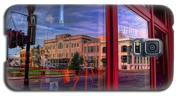 A Reflection Of Wausau's Grand Theater Galaxy S5 Case