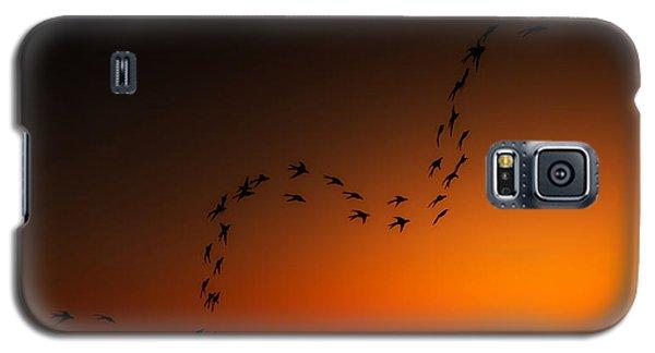 Galaxy S5 Case featuring the digital art A Ribbon Of Life... by Tim Fillingim