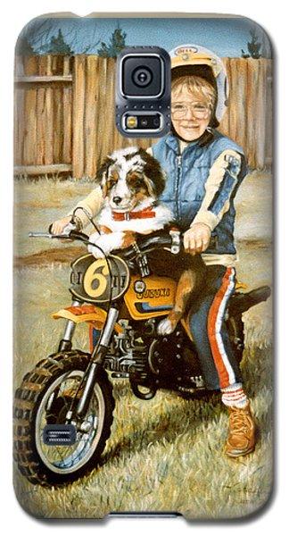 A Ride In The Backyard Galaxy S5 Case