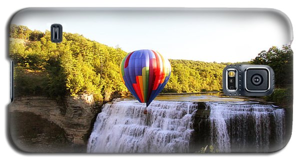 A Ride Over The Falls Galaxy S5 Case