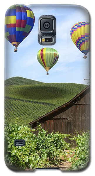 A Ride Through Napa Valley Galaxy S5 Case by Mike McGlothlen