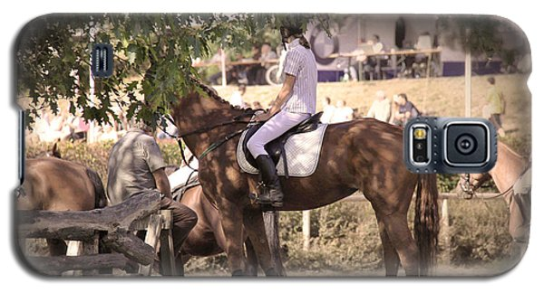 A Rider On A Horse Galaxy S5 Case