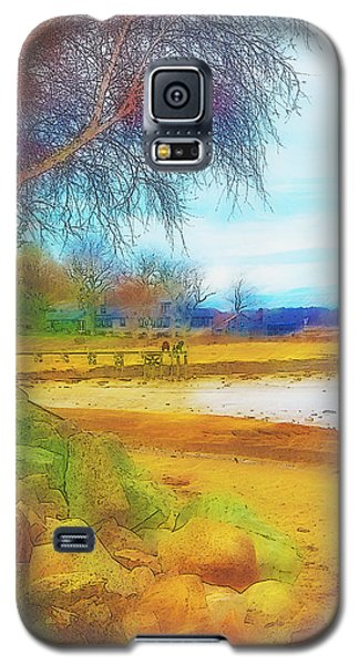 A Rocky Beach Galaxy S5 Case