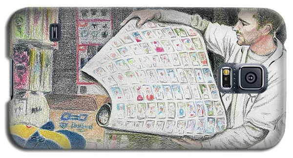 A Roll Of Baseball Cards Galaxy S5 Case by Yoshiko Mishina