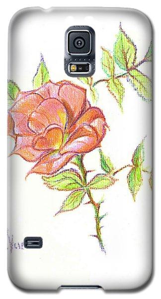 A Rose In Brigadoon Galaxy S5 Case