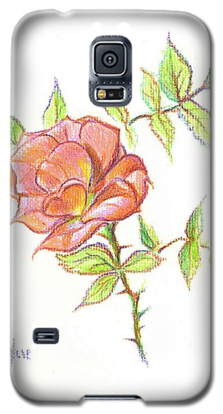 A Rose In Brigadoon Galaxy S5 Case